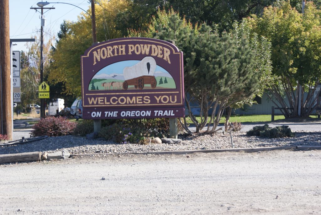 NP WELCOME SIGN